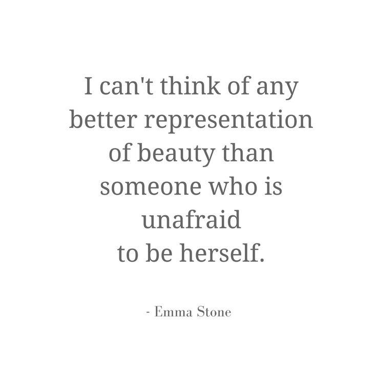 Emma Stone. Words of wisdom. #wisewords