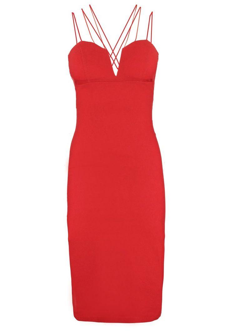 Czerwona sukienka od Rare London!  #vumag #red #dress #rarelondon #sexy #look