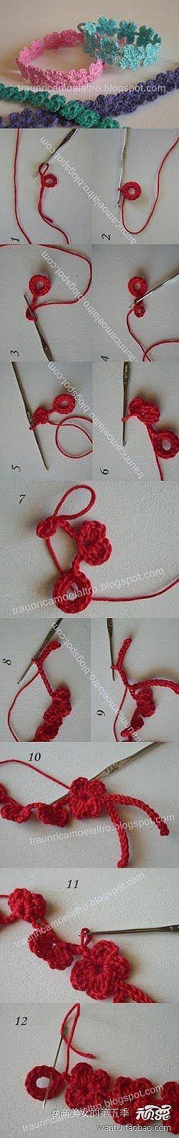 croched bracelet