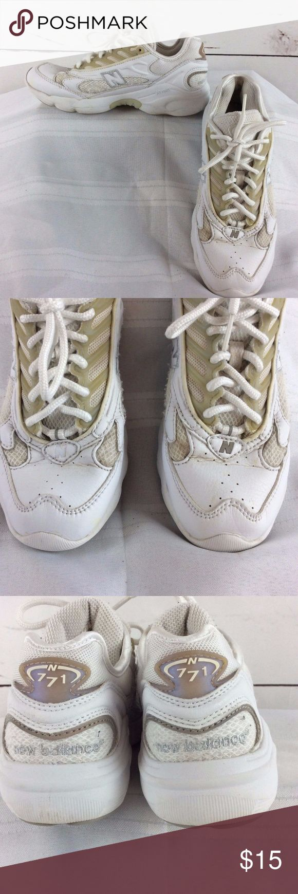 New Balance Women Walking Shoes White Leather Mesh 100% money back guarantee, free returns and excellent customer service.  Your item will ship within 24 hours after payment is received (excluding weekends and Holidays)  Please let us know if you have any questions.   New Balance Womens Walking Shoes 771 White Leather Mesh Size 6 B Sneakers Abzorb  Location: JL68  Our items are all from a pet free, smoke free home.  Items are purchased locally or donated so we are not aware if they have…