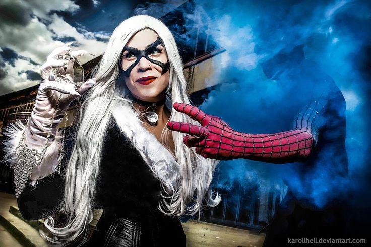Black Cat and your diamond.  cosplay  marvel by karollhell.deviantart.com on @DeviantArt