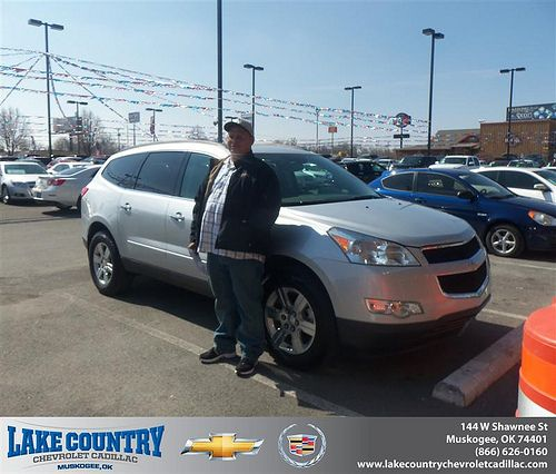 Congratulations to Guymon Marshall on the 2010 Chevrolet Traverse