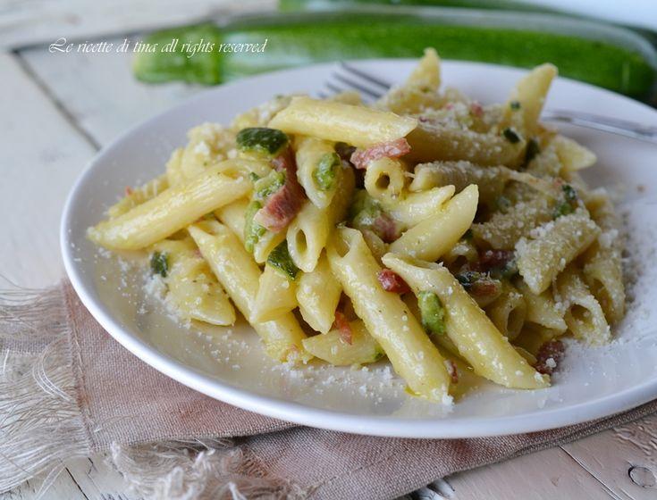 Pasta zucchine e speck magic cooker