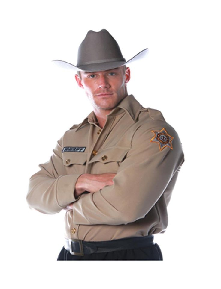 AmazonSmile: Underwraps Costumes Men's Sheriff Costume - Shirt: Clothing