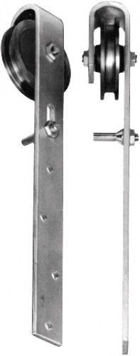 Rouleau de porte coulissante zu Portes en bois Bockrolle zingué ø 90mm Semblait