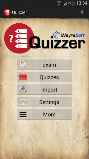 DESCRIPTION<br>For kids, university students, seniors, everybody. Create your own quizzes, share it, and enjoy playing. This is a new way to study and learn the subjects that you like or simply to enjoy and train your mind<p>LANGUAGES<br>English<br>Spanish<br>Italian (can have some mistakes)<br>French (can have some mistakes)<br>German (can have some mistakes)<br>Portuguese (can have some mistakes)<br>Did you see any mistake in your language? Contact us!<p>IMPORT QUIZZES<br>You can create…