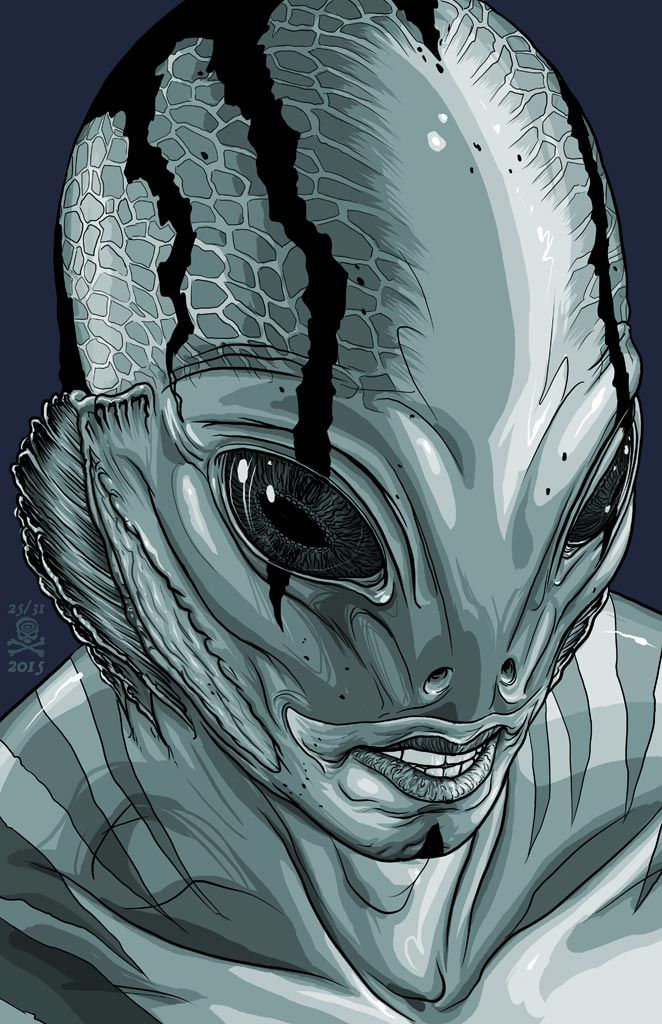Abe Sapien - Mike Walton