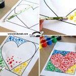 Figuras para que tus niños se entretengan con la goma de un lápiz y mucho color