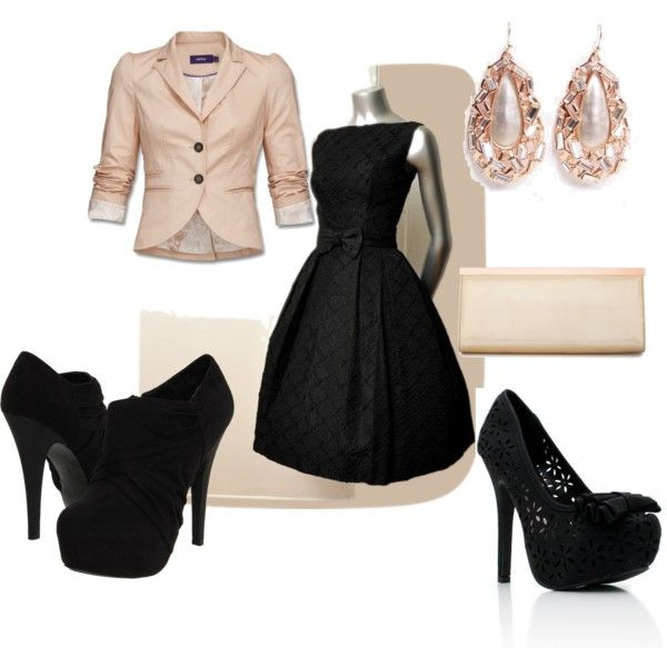 """wedding guest in winter"" by lkuhn23 on Polyvore"