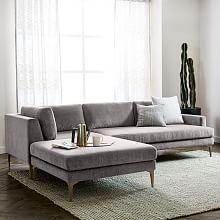 $3300  LOVE Modern Sectional Sofas | west elm