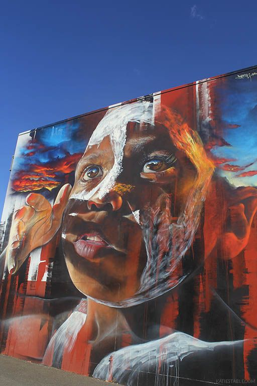 Mural by adnate, 49 Neil St, Toowoomba, Australia