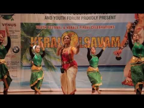 WMC SWISS  KERALOLSAVAM 2016-ASHA SARATH & SWISS GIRLS