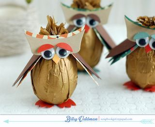 Owl Candy Eggs by Betsy Veldman for Papertrey Ink (August 2014)