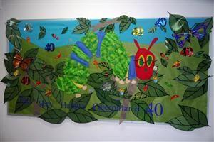 """The Very Hungry Caterpillar"" Bulletin Board"