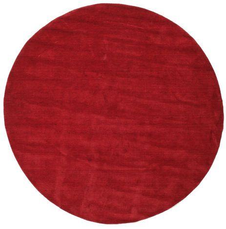 Handloom - Donkerrood tapijt BVD3775