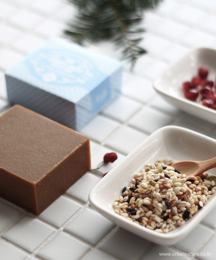 urbannature handmade aroma soap-202 goodbye aging milk bar 어반네이쳐 핸드메이드 아로마 비누