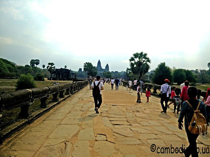 Ангкор Ват вход