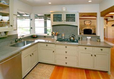 Bain Avenue::Capitola, CA - traditional - Kitchen - San Francisco - Jon Badeaux Construction, Inc.