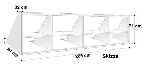 Drempelschrank-Model