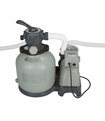 Pool Pumps 181485: Intex Krystal Clear 12 Sand Filter Pump For Aboveground Swimming Pool 28645Eg -> BUY IT NOW ONLY: $149.99 on eBay!