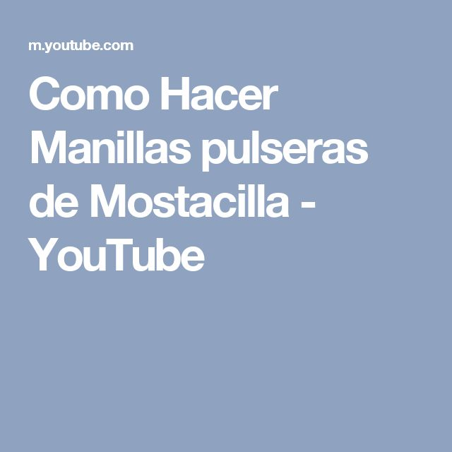 Como Hacer Manillas pulseras de Mostacilla - YouTube
