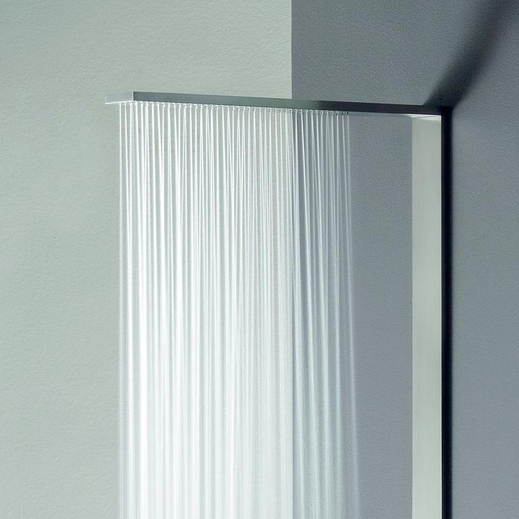 Regenwalddusche Led : Fantini Multifunktions-Duschpaneel Milanoslim Thermostatversion