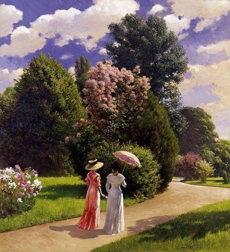 Parkban (1910.) Szinyei Merse Pál