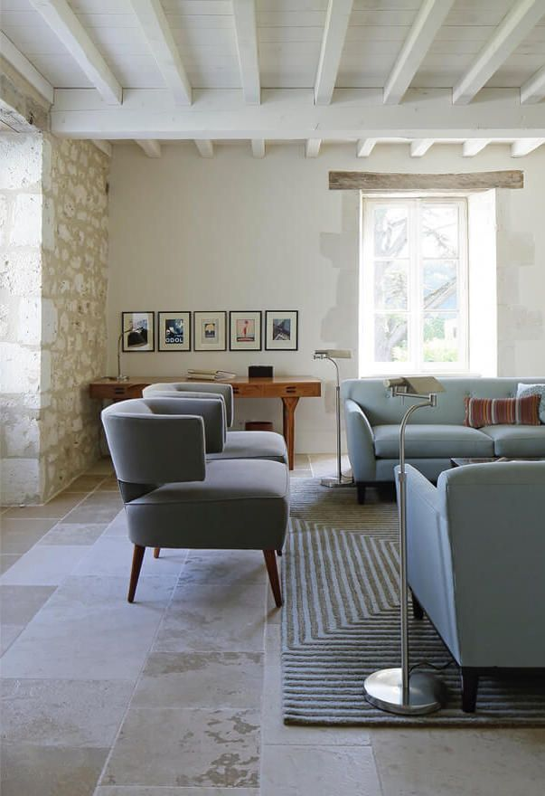 French Country House Sitting Room By Mcquinn Partnership Find This Interior Designer On The Interior