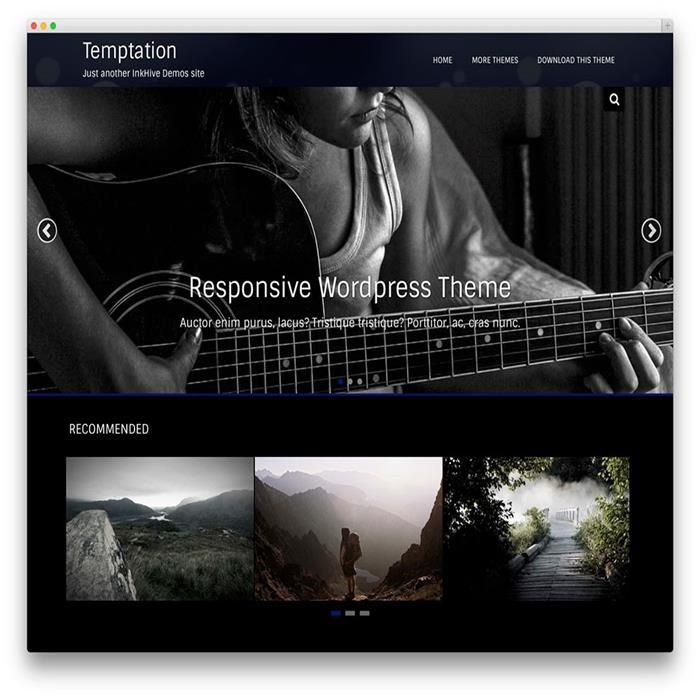 96 best Photography WordPress Themes images on Pinterest | Wordpress ...