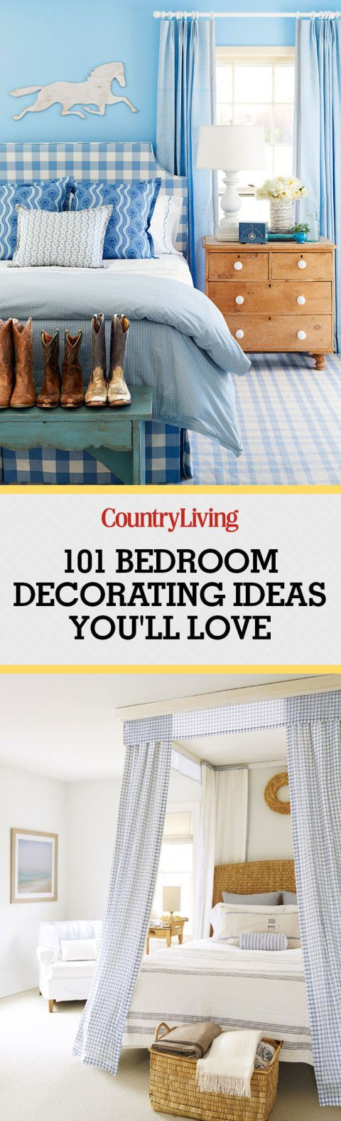 100 bedroom decorating ideas youll love - Master Bedroom Decorating Ideas Pinterest