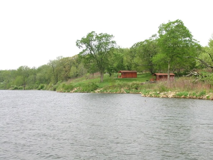 Shabbona Lake State Park Offers For Rent Two Cabins Located On The Shore Of  Shabbona Lake