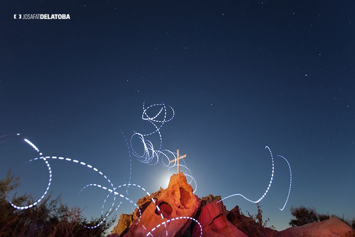 Light painting in the sky #josafatdelatoba #cabophotographer #loscabos #lightpainting #longexpositure