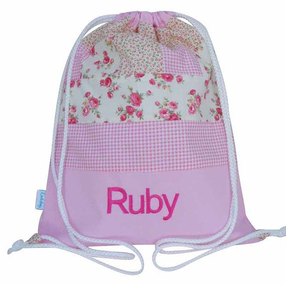 GREAT GIFT FOR KIDS /& NAMED TOO COWBOY PERSONALISED GYM SWIMMING BAG PE