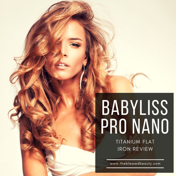 Looking for a Flat Iron, you owe it to yourself to pick up the best and that would be the babyliss pro nano titanium flat iron review