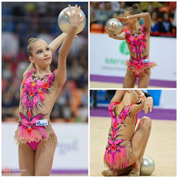 Rhythmic gymnastics leotard