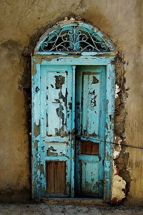 mediterraneanfeel: ove this color on everything. mediterranean feel: TUNISIAN Landscape por Michał Cichoń en Behance