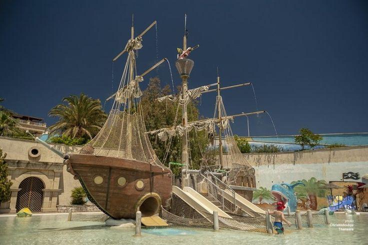 WATERPARK RODOS PIRATE SHIP