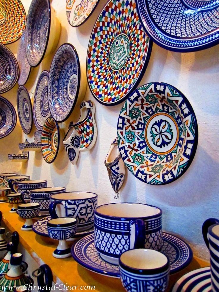 A Medina (Market) in Fes, Morocco.