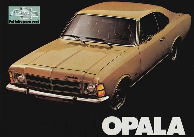 13612 - GM - CHEVROLET - - Opala - Foi feito para você - 29x41.