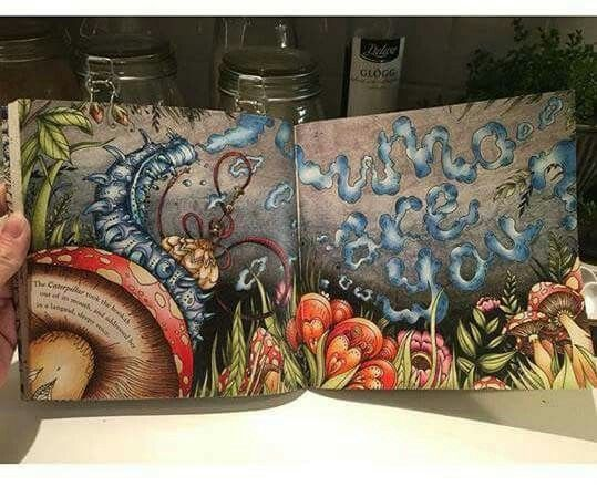 Escape To Wonderland Coloring BooksAdult