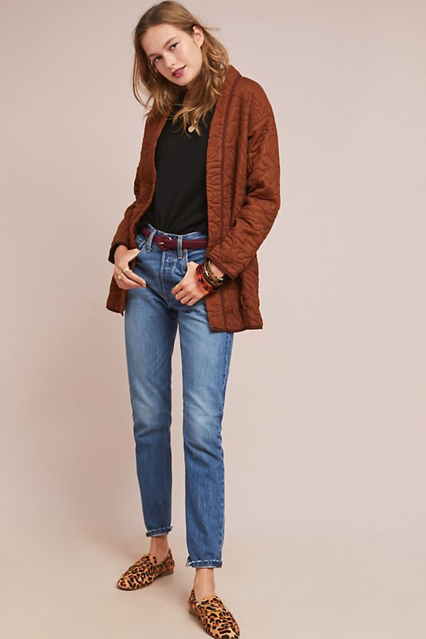 7f46ba377103 Slide View  6  Quilted Kimono Jacket