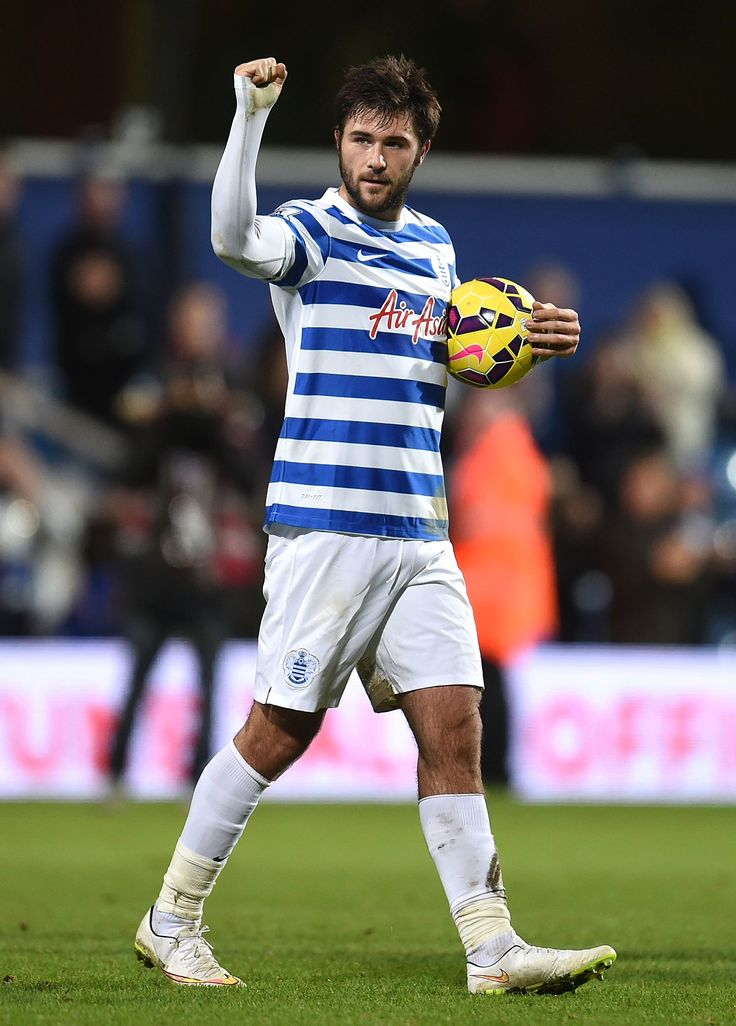 QPR Player Charlie Austin Taking The Game Ball Home 9ine AustinQueens Park