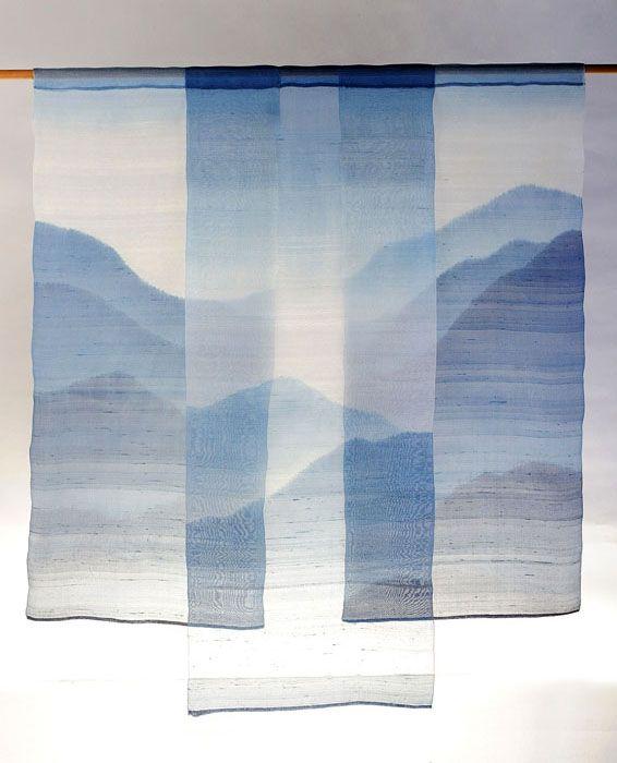 mountain silk screen