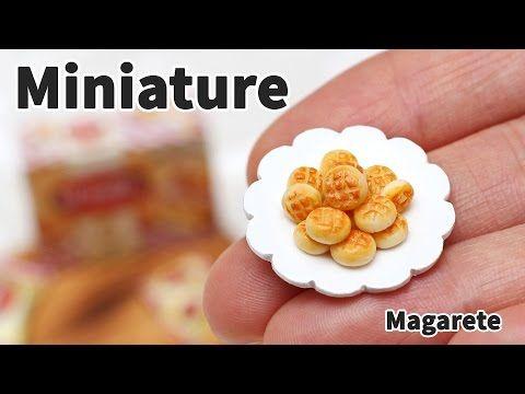 미니어쳐 토핑 만들기 #27 카라멜 팝콘 - Miniature topping series - YouTube