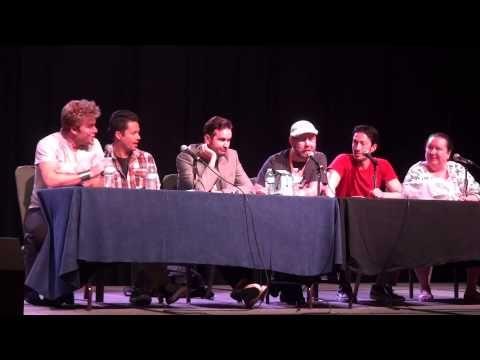 [Video] Voice Actor Roundtable at AWA - Todd Haberkorn, Chris Sabat, Vic Mignogna, Johnny Yong Bosch, Ian Sinclair and Amy Howard Wilson - I love them.