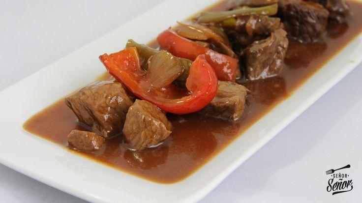 ternera picante  http://www.recetasdecocinadesergio.com/2013/08/ternera-picante-receta-china.html