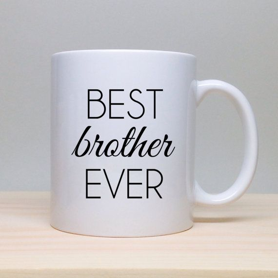 138 best funny gifts images on pinterest funny cups funny mugs coffee mug gift gift for brother birthday gift personalized gift coffee mug negle Images