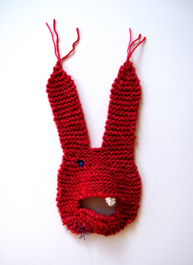 Bunny Mask - Miss Mizu: Knits Crochet, Bunnies Masks, Costume Masks Headdress, Faces Masks, Dust Bunnies, Posts, Costumes Masks, Donnie Darko, Christmas Stockings