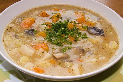 Bramborová polévka nasytí i zahřeje