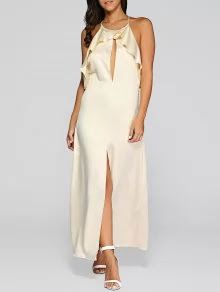 The keyhole maxi dress